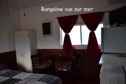 Bungalow vue sur mer c