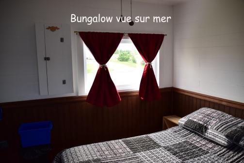 Bungalow vue sur mer d