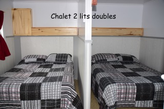 chalet 2 lits doubles a