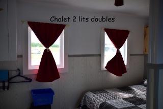 chalet 2 lits doubles b