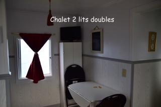 chalet 2 lits doubles c